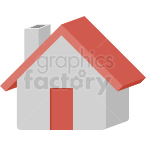 house vector flat icon clipart with no background clipart. Royalty-free image # 406659
