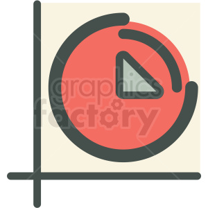 efficiency statistic vector icon clipart. Commercial use image # 406915
