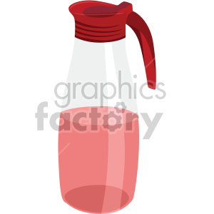 beverage container flat icons clipart. Royalty-free icon # 407152