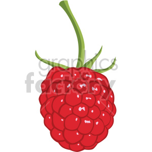 icons raspberry fruit food