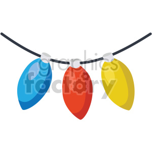christmas lights icon clipart. Commercial use image # 407345