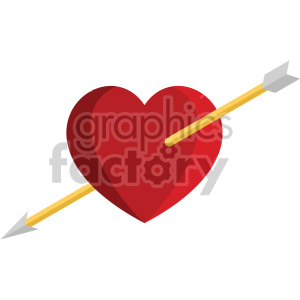 valentines heart vector icon no background clipart. Royalty-free icon # 407449
