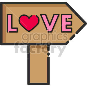 love sign clipart. Royalty-free image # 407480
