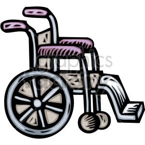 wheelchair clipart. Royalty-free image # 149479