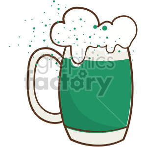 st patricks day beer clipart. Royalty-free image # 407665