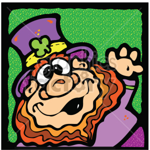 leprechaun 006 c clipart. Commercial use image # 407728