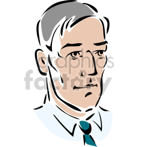 husband's face clipart. Royalty-free image # 157277