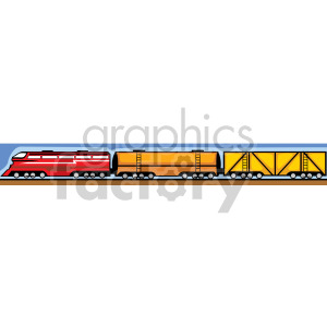 symbols designs train trains   annr010 Clip Art Signs-Symbols