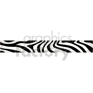 zebra header clipart. Commercial use image # 167000