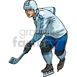 hockey clipart. Commercial use image # 169286