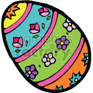 easter egg 002 c clipart. Royalty-free image # 407841