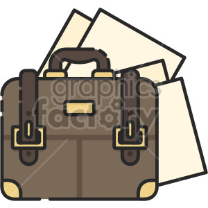 satchel clipart. Commercial use image # 407942