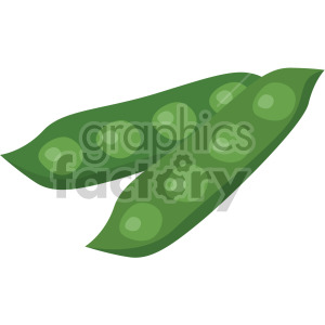 pea pods clipart. Royalty-free image # 408000