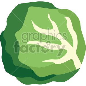 lettuce clipart. Royalty-free icon # 408002