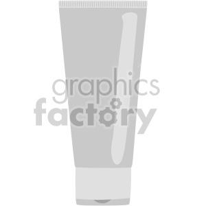 lotion tube no background