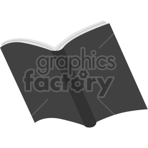open book no background clipart. Royalty-free image # 408119