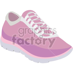 woman tennis shoes clipart. Commercial use image # 408130