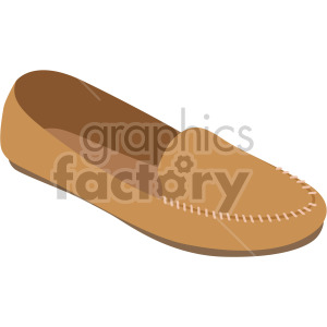 mocassin shoe clipart. Commercial use image # 408141