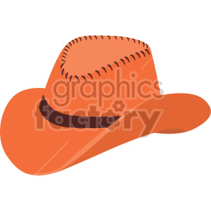 cowboy hat no background clipart. Royalty-free image # 408179