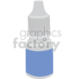 eye dropper bottle no background clipart. Commercial use image # 408210