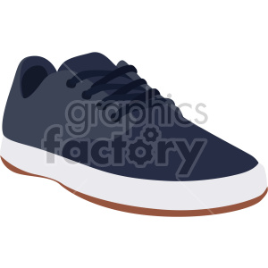 blue walking shoe
