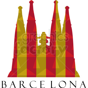 barcelona vector design clipart. Royalty-free image # 408505