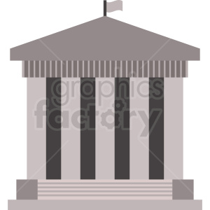 government building icon clipart. Royalty-free image # 408637