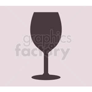 wine glass on light background icon clipart. Commercial use image # 408650