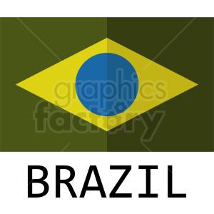 brazil logo design clipart. Royalty-free image # 408770