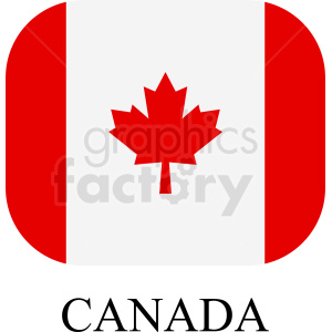 canada icon clipart. Royalty-free image # 408785
