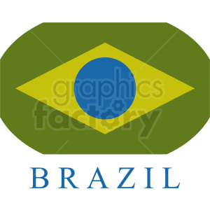 brazil design idea clipart. Royalty-free image # 408815
