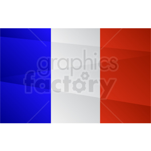 french flag design vector clipart. Royalty-free image # 408847