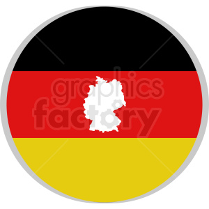 germany vector icon flat design