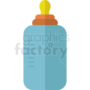 baby bottle icon no background clipart. Royalty-free image # 408892