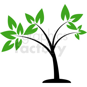 cartoon tree design clipart. Royalty-free image # 408930