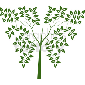 tree design clipart. Royalty-free image # 408942