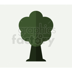 cartoon tree on background clipart. Royalty-free image # 408945