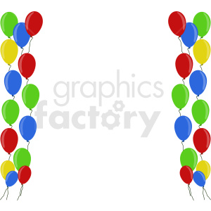 balloon design clipart. Commercial use image # 408950