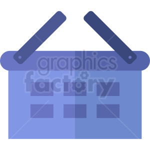 purple shopping basket icon design no background clipart. Commercial use image # 408972
