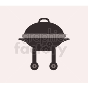grill flat icon light background clipart. Royalty-free image # 408975