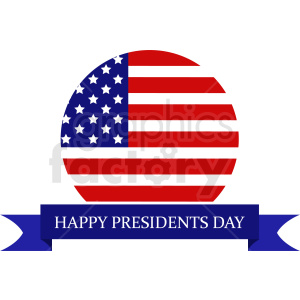 presidents day vector icon design