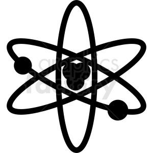 science atom nucleus ML symbol