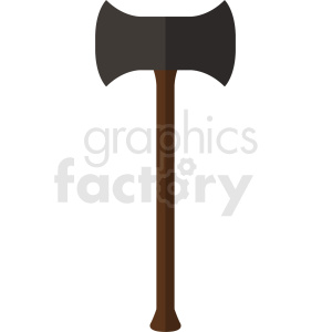 axe icon no backgorund clipart. Royalty-free image # 409105