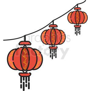 icon lantern Chinese km decoration