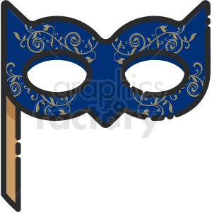 party mask icon clipart. Royalty-free image # 409168