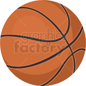 basketball vector clipart