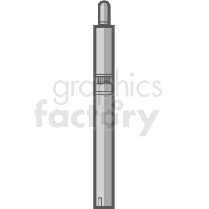 vape pen slim vector clipart