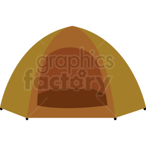 camping tent vector clipart clipart. Commercial use icon # 409592