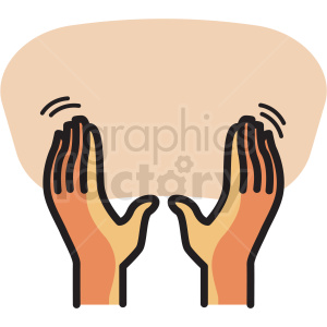 back massage vector icon clipart clipart. Royalty-free image # 409631