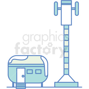 base camp site icon clipart. Royalty-free image # 409806